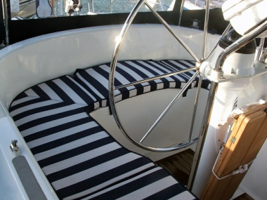custom boat deck cockpit cushions